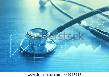 Medical examination and healthcare business concept #1449915113