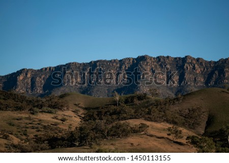 Mountain Ranges Flinders Ranges National Park South Australia #1450113155