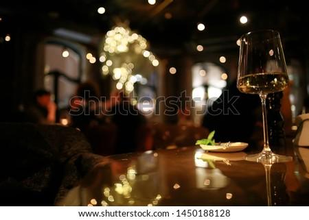 glass of wine alcohol / wine liquor, a celebration of grapes #1450188128