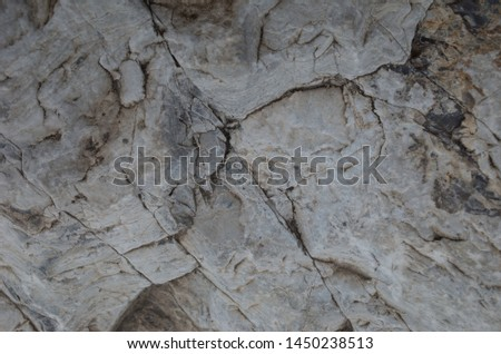 The surface layer of rock #1450238513