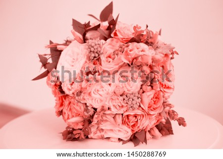 Wedding beauty wedding flowers. Fashion trend of the year. #1450288769