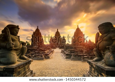 Sewu Temple is a largest Buddist Temple after Borobudur Temple in Indonesia. This is located at Prambanan, Yogyakarta, Indonesia, near from Prambanan Temple.  #1450344572