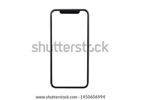 Smartphone isolated on white background #1450606994