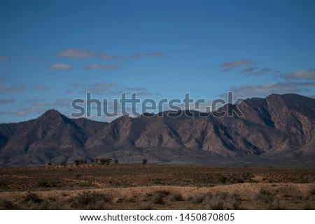 Heysen Ranges Flinders Ranges South Australia  #1450870805