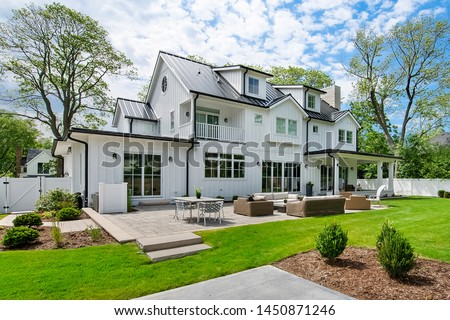Residential Real Estate Exterior Home #1450871246