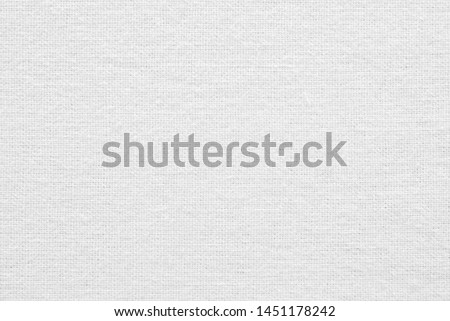 Linen texture, white cotton fabric as background #1451178242