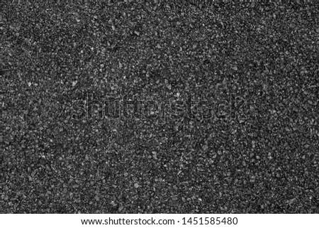 Asphalt road background with black color. #1451585480