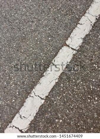 Asphalt road line, road line #1451674409