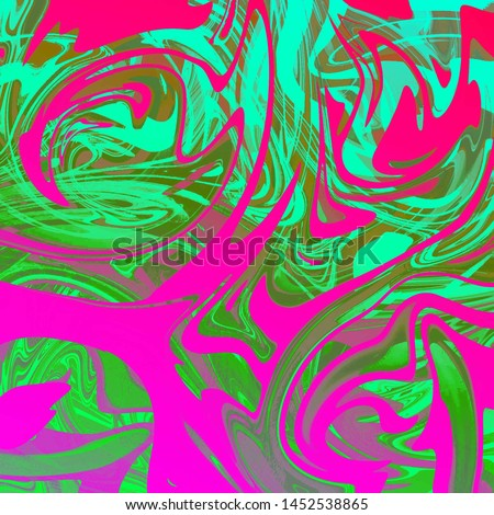 super liquid abstract background with oil painting streaks and watercolor #1452538865