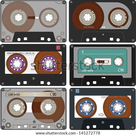 The complete set of the different Audio Cassettes Tapes #145272778