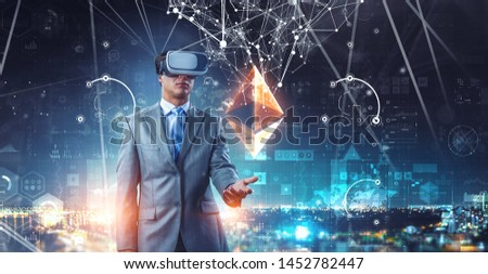 Virtual reality experience. Technologies of the future. #1452782447