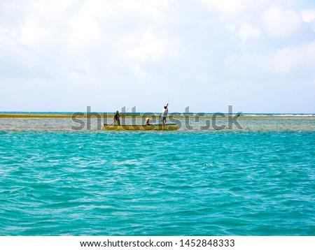 Local fishermen going to the sea sea. #1452848333