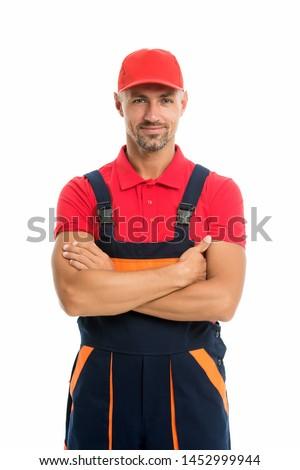 Help around house handyman service. Man helpful laborer. Repair and renovation. Repair tips. Guy worker in uniform. Builder regular worker. Handyman services concept. Handyman professional occupation. #1452999944