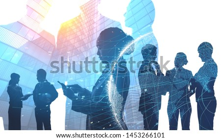 Global business concept. Network of business. Diversity. Royalty-Free Stock Photo #1453266101