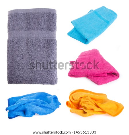 towel or bath towel on a background new #1453613303