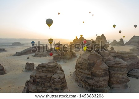 Extraordinary sandstone landscapes host extraordinary cultural and natural heritage. Surrounded with beautiful unique rock formation where you can only find in AlUla. #1453683206