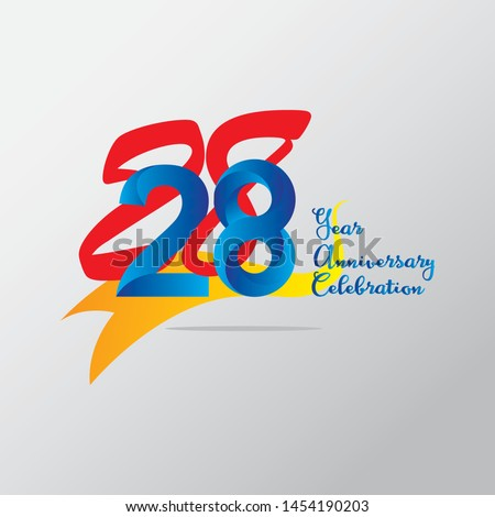 anniversary emblems 28 in anniversary concept template design #1454190203
