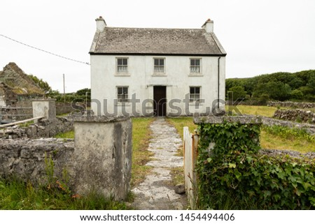 houses on the isolated Aran island of Inishmore #1454494406
