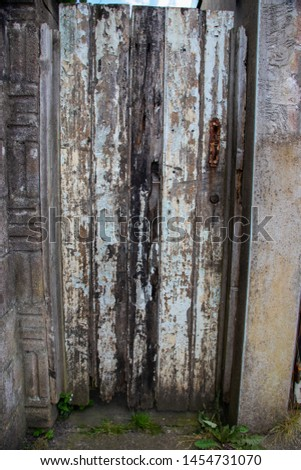 Wooden door vintage texture background retro grunge resource #1454731070