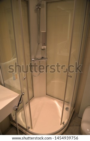 Airport Shower Facility at Helsinki Airport, Northern Europe #1454939756