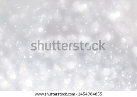white blur abstract background. bokeh christmas blurred beautiful shiny Christmas lights, bokeh background #1454984855