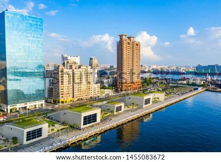 Kaohsiung, Taiwan, Kaohsiung Port, Cityscape #1455083672