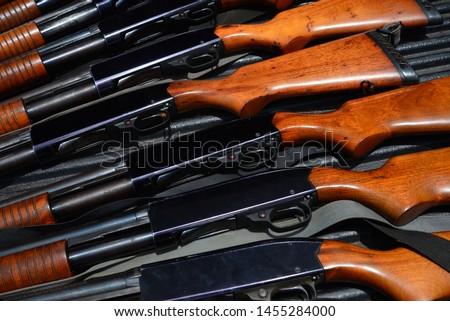 Multiple shotguns ,Shotgun 870 WINGMASTER #1455284000