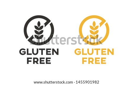 Isolated gluten free icon vector design. #1455901982