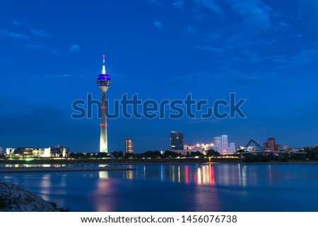 Dusseldorf downtown, Dusseldorf downtown at night, Dusseldorf altstadt, Dusseldorf downtown at night and day time #1456076738