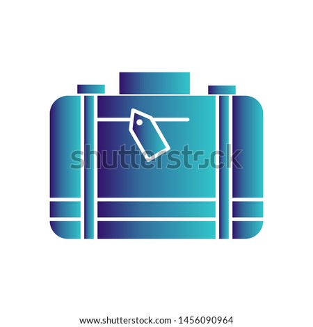 Briefcase icon for your project #1456090964