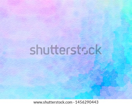 Watercolor paper texture for backgrounds. colorful abstract pattern. The brush stroke graphic abstract. Picture for creative wallpaper or design art work. #1456290443