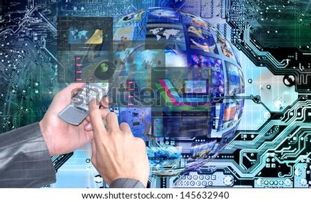 Innovative internet technologies.E-business #145632940