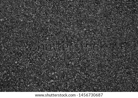 Asphalt road background with black color. #1456730687