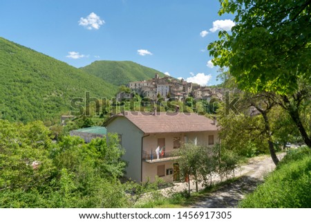 Scanno is a town and district in the province of L'Aquila, in the Abruzzo region of central Italy.  #1456917305