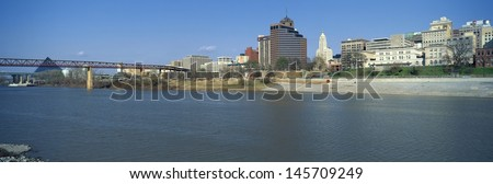 Mississippi River bank with in Memphis, TN