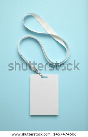 Business conference badge, name tag.  #1457474606