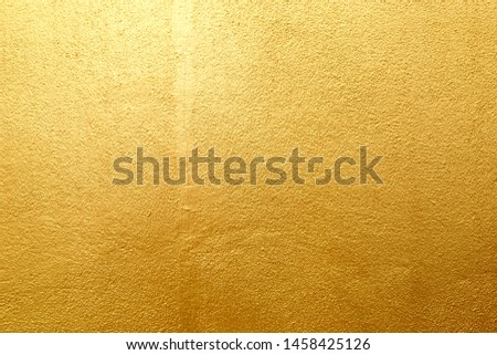 Gold stone texture for background. #1458425126