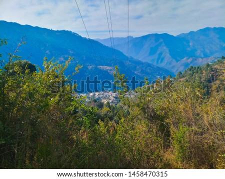 Terrace Farming in Bageshwar Hill, Uttarakhand Hill, Uttarakhand #1458470315