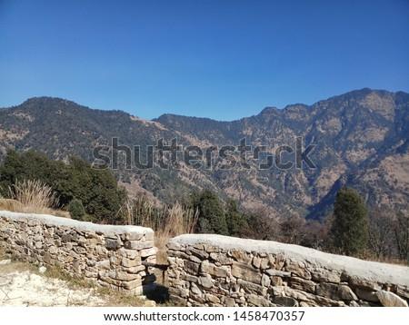 Terrace Farming in Bageshwar Hill, Uttarakhand Hill, Uttarakhand #1458470357