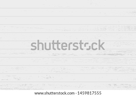 White wood plank texture vector background #1459817555