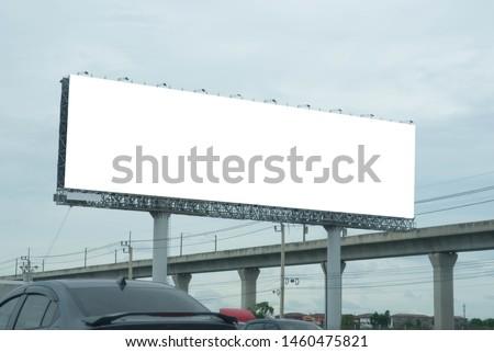 Blank billboard for new advertisement. #1460475821