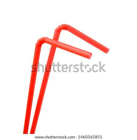 Straw plastic straw drink straw - Image  #1460565851