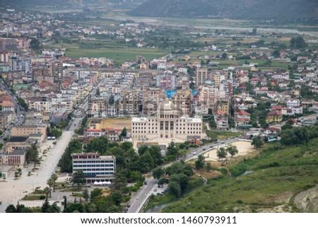 City of Berat in Albania Close-up #1460793911