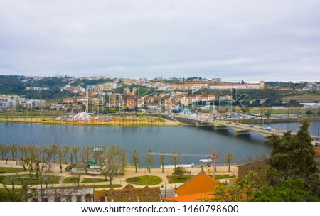 Panoramic cityscape of Coimbra, Portugal  #1460798600