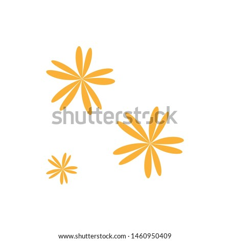 beautiful flower with leaf background design pattern #1460950409