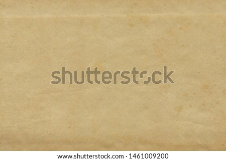 Vintage and old looking paper background. Retro cardboard texture. Grunge paper for drawing. Ancient book page. #1461009200