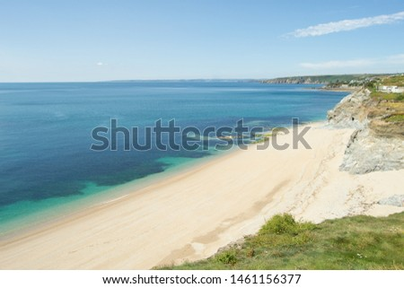 Beach near Porthleven, Cornwall UK  #1461156377