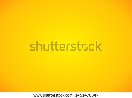 Yellow Gradient abstract background. Orange template background. Yellow empty room studio gradient used for background.  #1461478349