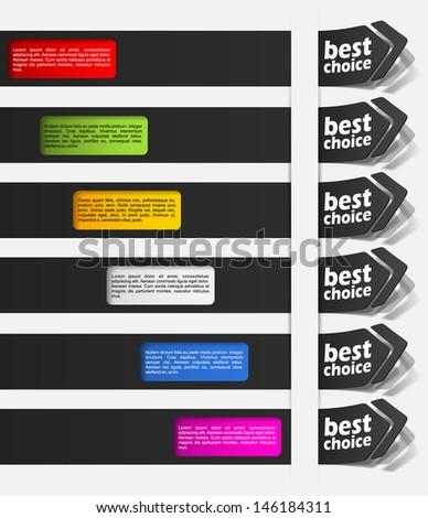 eps10, realistic design elements #146184311
