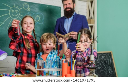 Experience and knowledge. Practical knowledge. Basic knowledge. Study hard. Measurable outcomes. Child care and development. Critical thinking and problem solving. Science club afterschool program. #1461971795